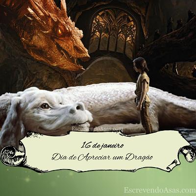 16 de janeiro - Dia de Apreciar um Dragão (Appreciate a Dragon Day) - Smaug, Falkor