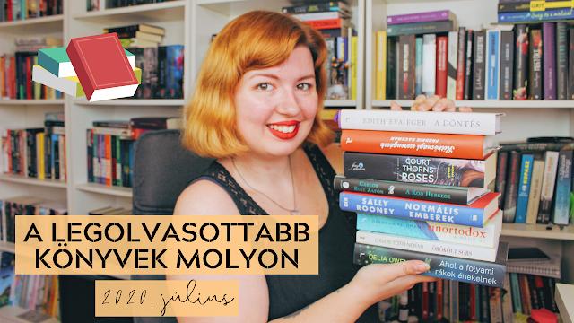 A LEGOLVASOTTABB KÖNYVEK MOLYON 📚 Első benyomások, újdonságok, könyvajánló (2020 július) könyves vélemény, könyvkritika, recenzió, könyves blog, könyves kedvcsináló, György Tekla, Tekla Könyvei
