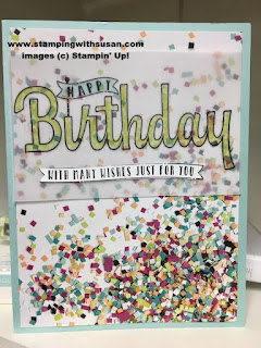 Stampin' Up! Birthday Wishes from You Picture Perfect Party Vellum Cardstock
