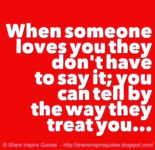 Quotes On Telling Someone You Love Them