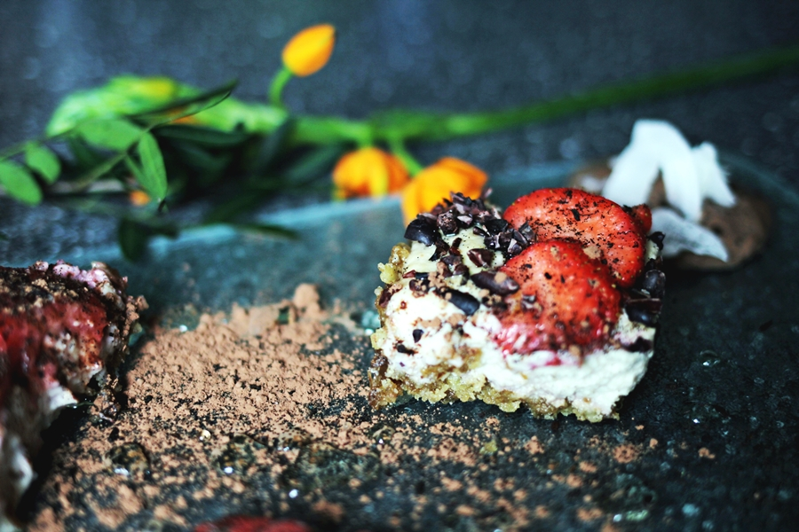 coconut vegan cheese cake myberlinfashion cook with me monday