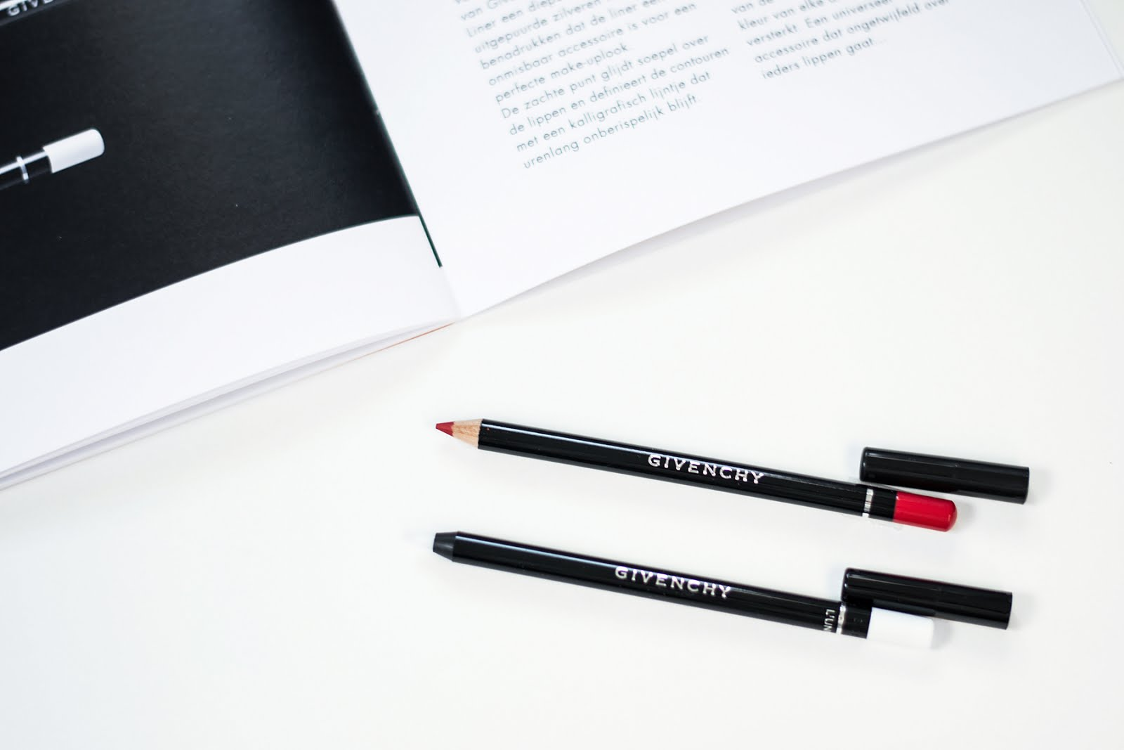 Givenchy make up SSS17, Lip liner, waterproof, 06, Carmin, contour, transparent