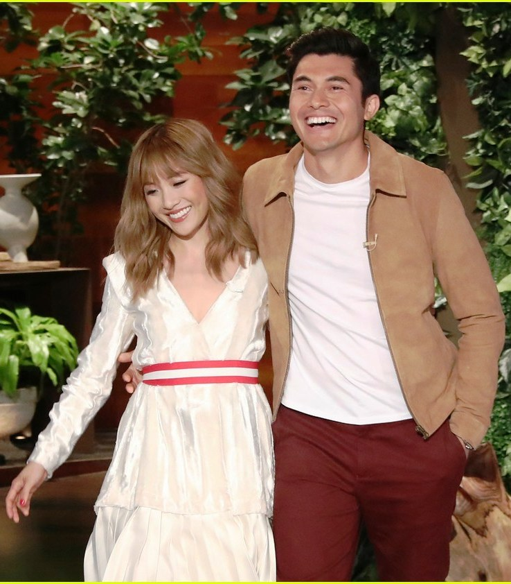 Constance Wu & Henry Golding Debut 'Crazy Rich Asians' Trailer on 'Ellen