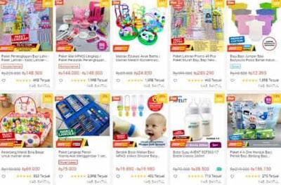 kabin bayi store toko perlengkapan bayi shopee