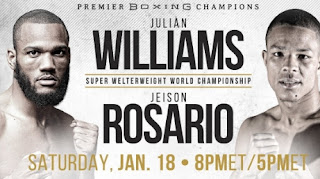 Streaming Julian Williams vs Jeison Rosario dengan berlangganan Mola TV