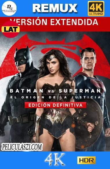Batman vs Superman, el Origen de la Justicia (2016) Ultra HD EXTENDED REMUX 4K HDR Dual-Latino VIP