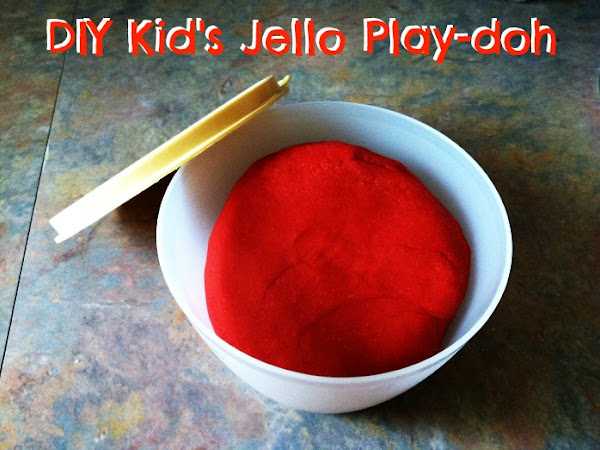 DIY Kid's Jello Play-doh