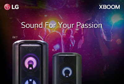 LG XBoom at Home – Sound for Your Passion