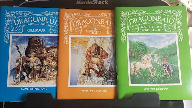 DragonRaid Book covers