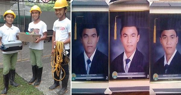 Triplets All Graduate as Cum Laude, Earn Praise from Netizens