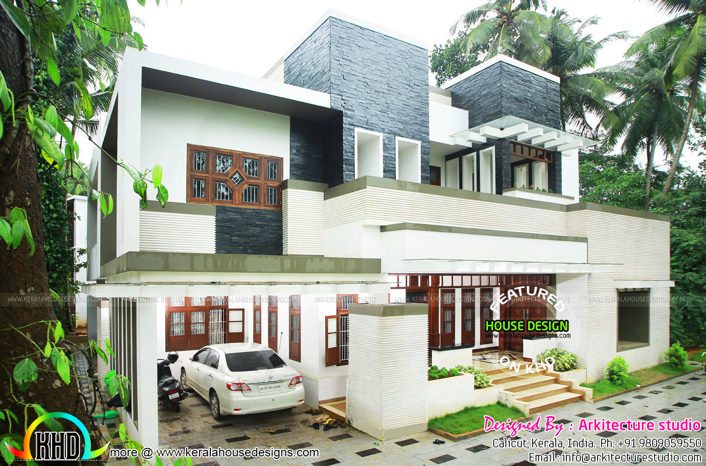 5000 sq ft house work finished kerala home design and for 5000 square feet building