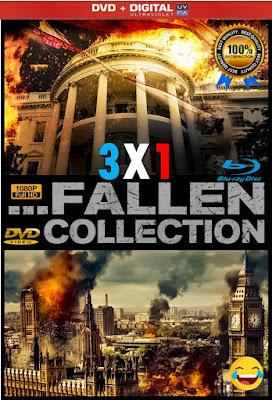Has Fallen Collection 3X1 CUSTOM HD LATINO 5.1 + FORZADOS