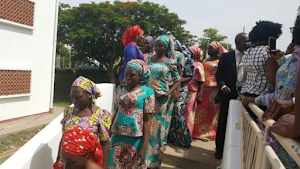 DSS transfers recently released abducted Chibok girls to Ministry of Women Affairs Rehabilitation camp(Photos)