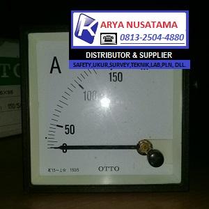 Jua Meter Analog Otto 0 - 150/5 A 96x96 di Lampung