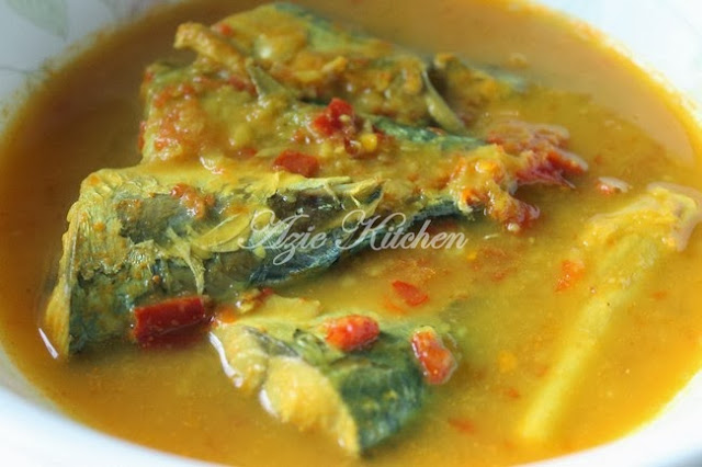 Masak Tempoyak Ikan Kembung Versi Perak Azie Kitchen