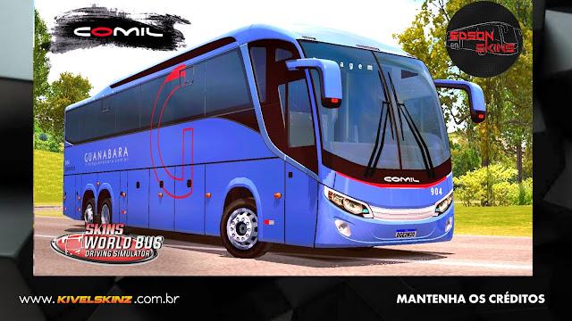 COMIL 1200 6X2 - VIAÇÃO EXPRESSO GUANABARA