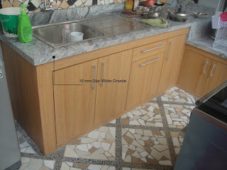 Kitchen Set Keramik Ditutup HPL - Furniture Semarang