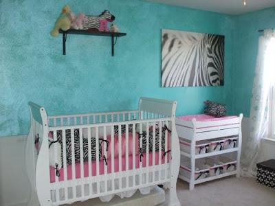 quarto bebe menina zebra