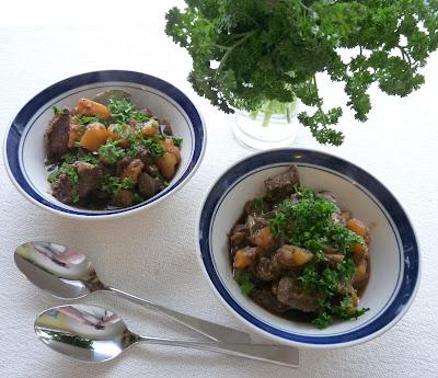 13th Century Spanish Beef & Turnip Stew