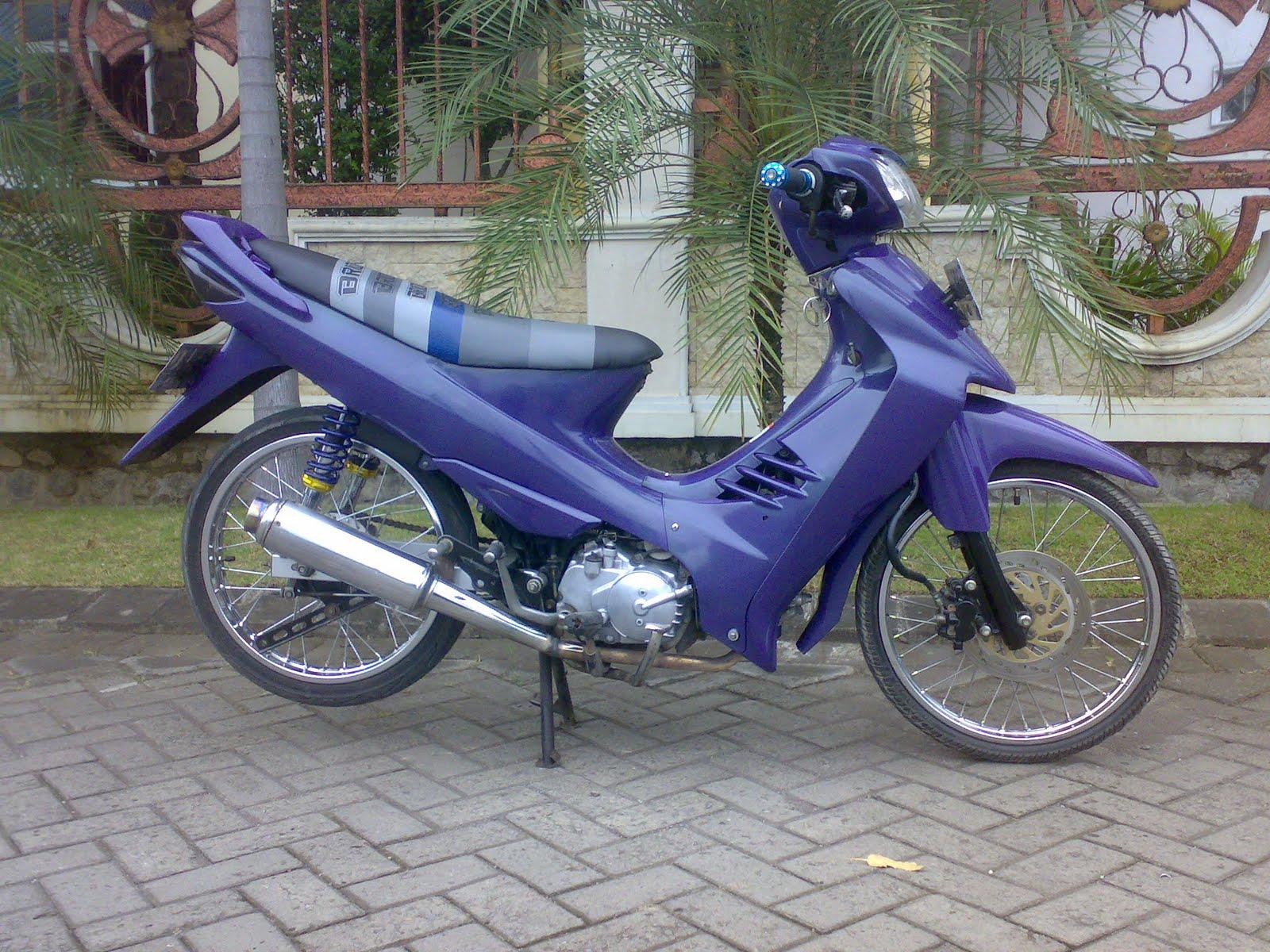 Modifikasi Motor Radak Keren Shogun Cliquers