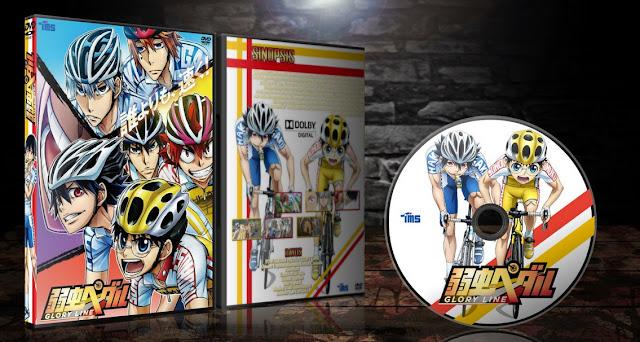 Yowamushi Pedal: Glory Line | Cover DVD |