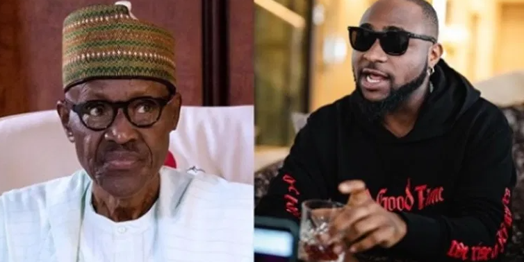 """""""Our president has only addressed us once in the past 10 days"""" – Davido slams President Buhari"""