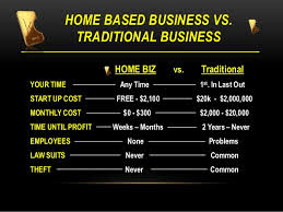 Home based business Vs Traditional Business