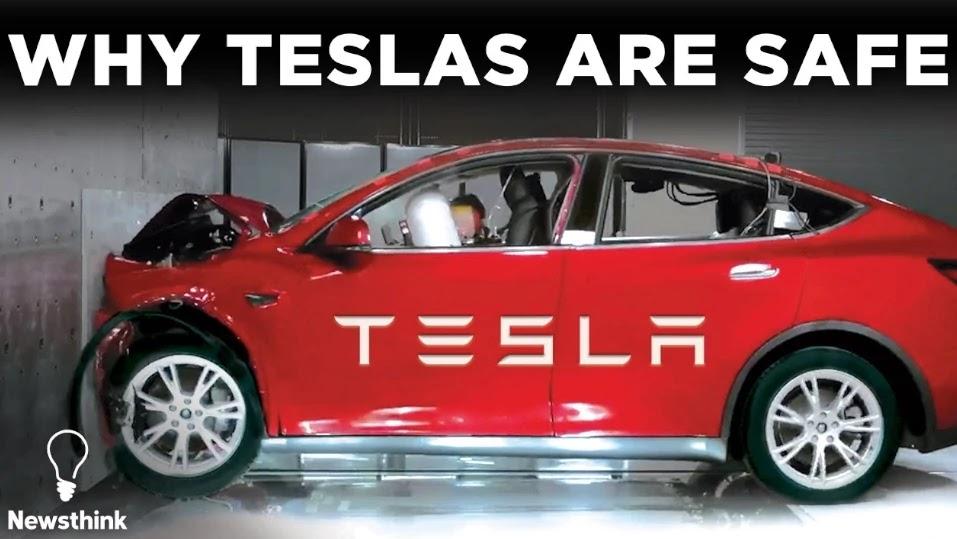 What Makes Tesla's So Safe