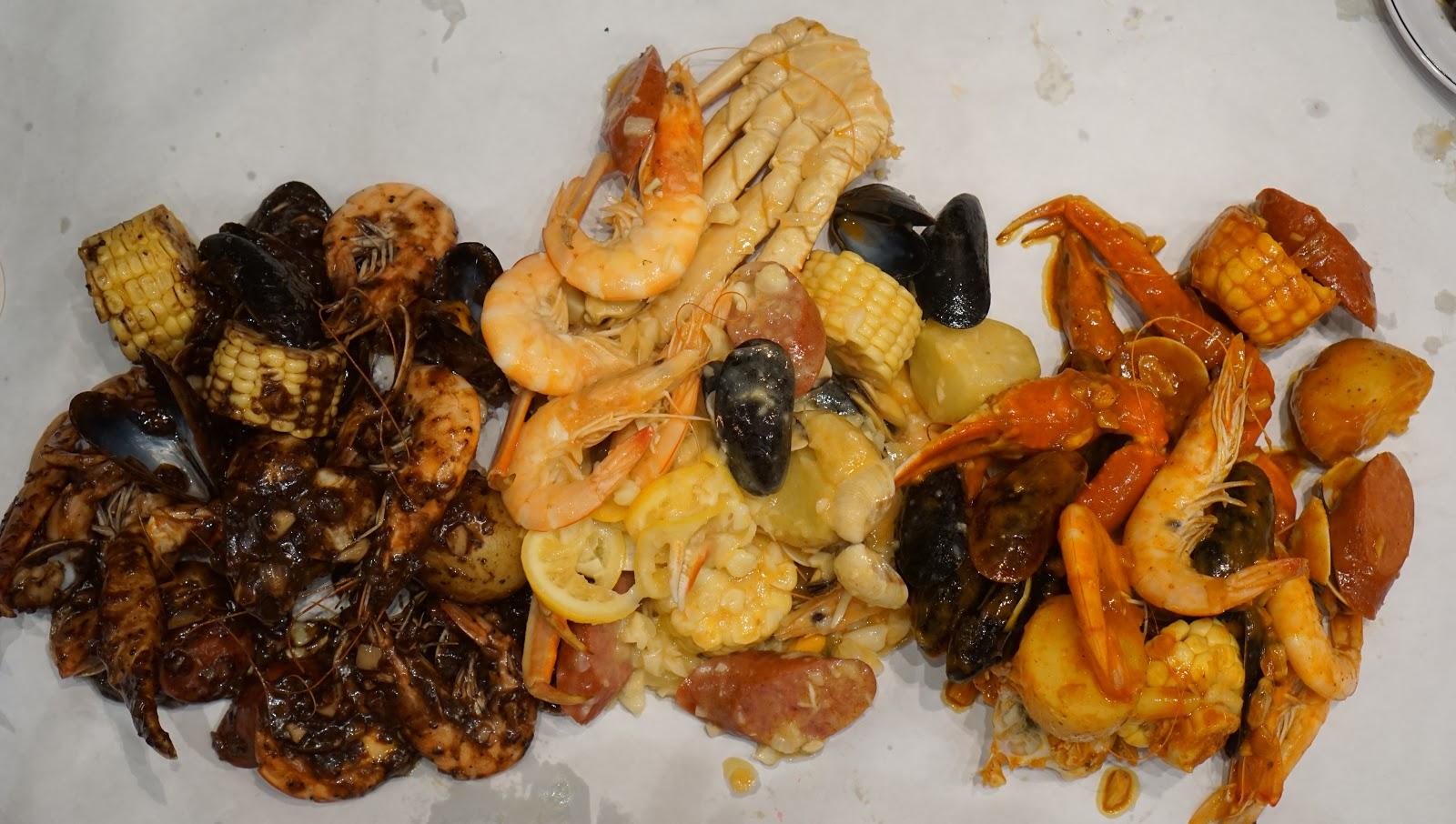 Experience Hawaiian Cajun Seafood @ Crackin Kitchen - Pasadena