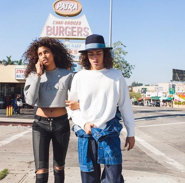 Model Couple: Imaan Hammam and Naleye Junior