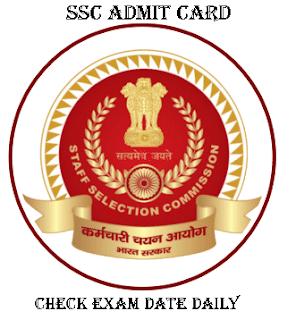 SSC GD Constable Admit Card 2021