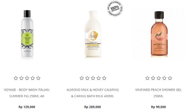 Body Shop Online Yang Lengkap