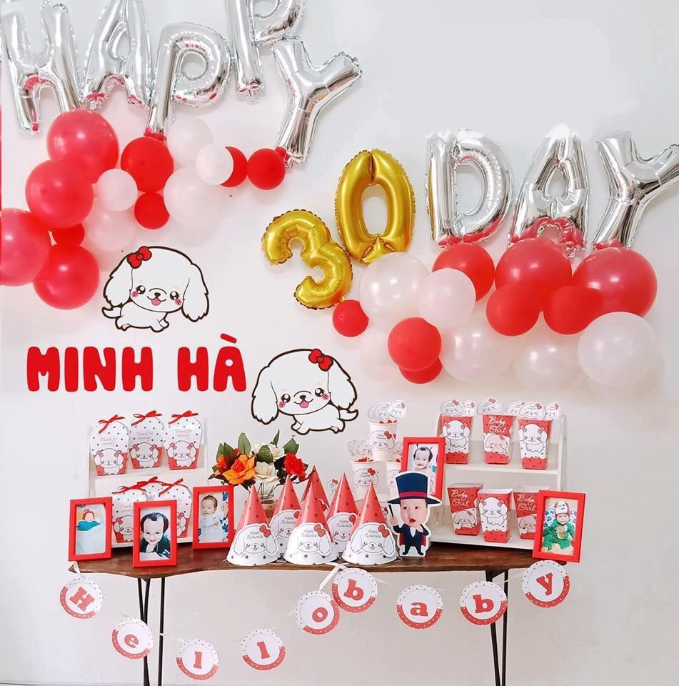 Bong trang tri day thang cho be tai Minh Khai