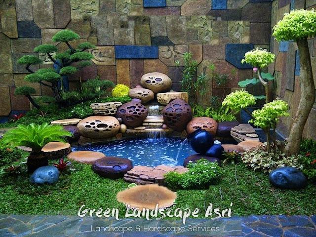 Jasa Pembuatan Relief Kolam Tebing Situbondo   Tukang Dekorasi Relief Taman