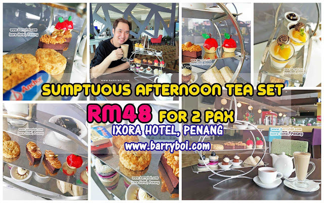 Afternoon Tea Set in Penang at Ixora Hotel Penang Penang Blogger Influencer