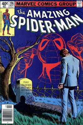 Amazing Spider-Man #196, the death of Aunt May