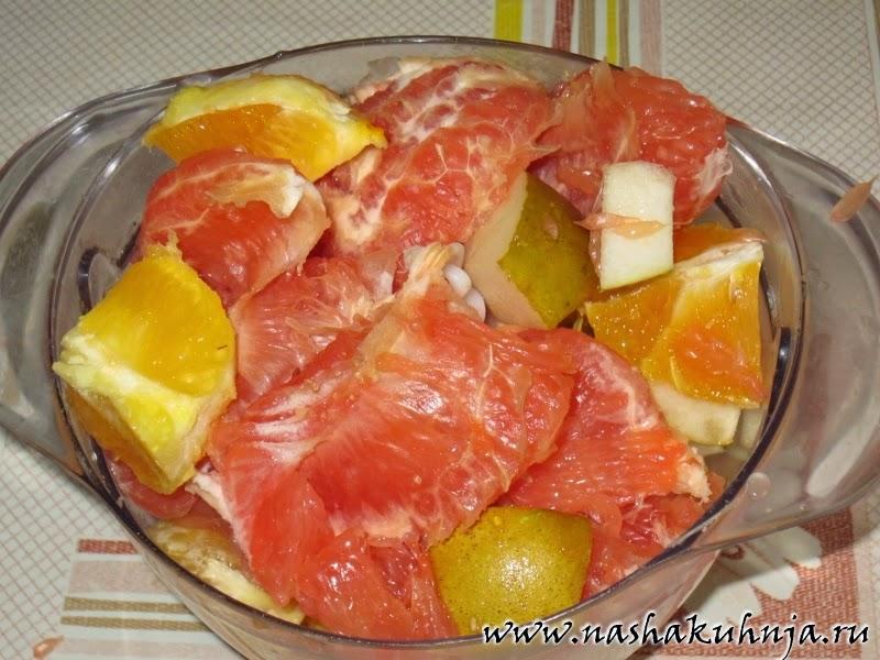 Рецепт Для Похудения С Грейпфрутом.