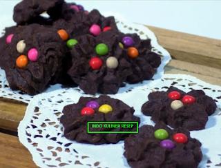Resep Cara Membuat Kue Semprit Coklat