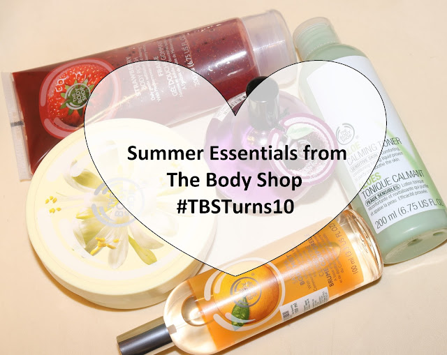 10 Summer essentials from The Body Shop