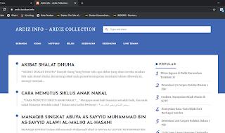 Mendesain Favicon untuk Website ardiz.tarakan.info
