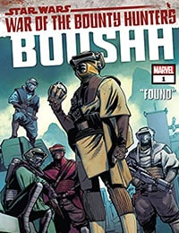 Star Wars: War of the Bounty Hunters - Boushh Comic