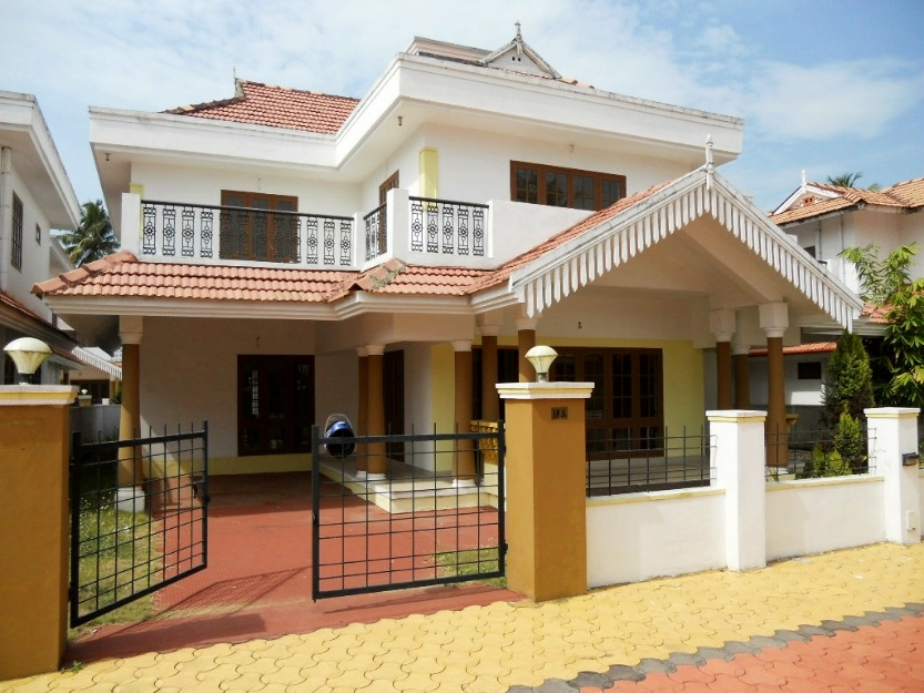 India kerala and international villa pictures kerala for Villa design plan india