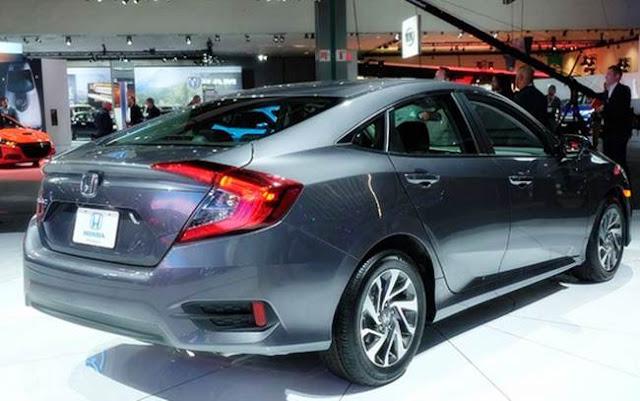2016  Honda Civic discharges teaser Philippines