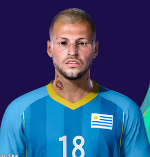 PES 2021 Faces Nico Lopez by Lucas
