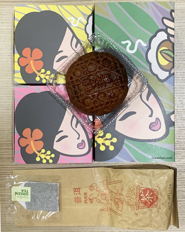 Delightful Autumn Tea Mooncake Gift Set (RM43)