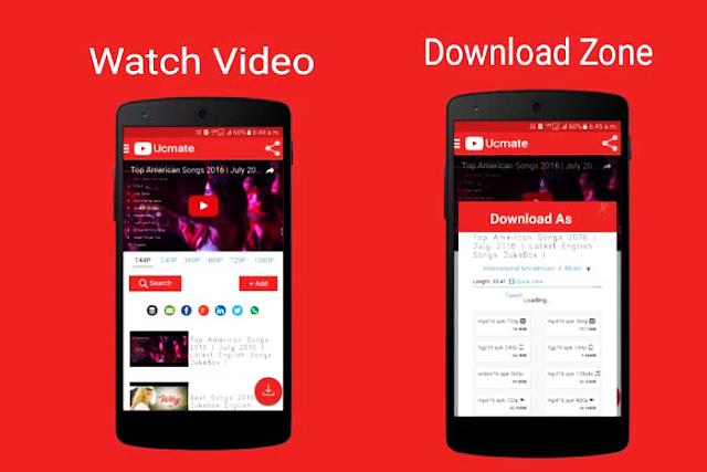 تطبيق يو سي مايت Ucmate لتحميل الفيديوهات