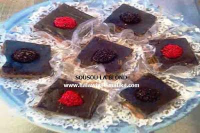 حلوى بدون فرن بالشوكولا سهل ولذيذ