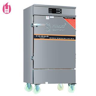 Tủ Nấu Cơm Gas Và Điện có Bảng Điều Khiển cảm ứng 12 Khay –TC12K-GĐB