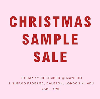 Mawi Sample Sale December 2017