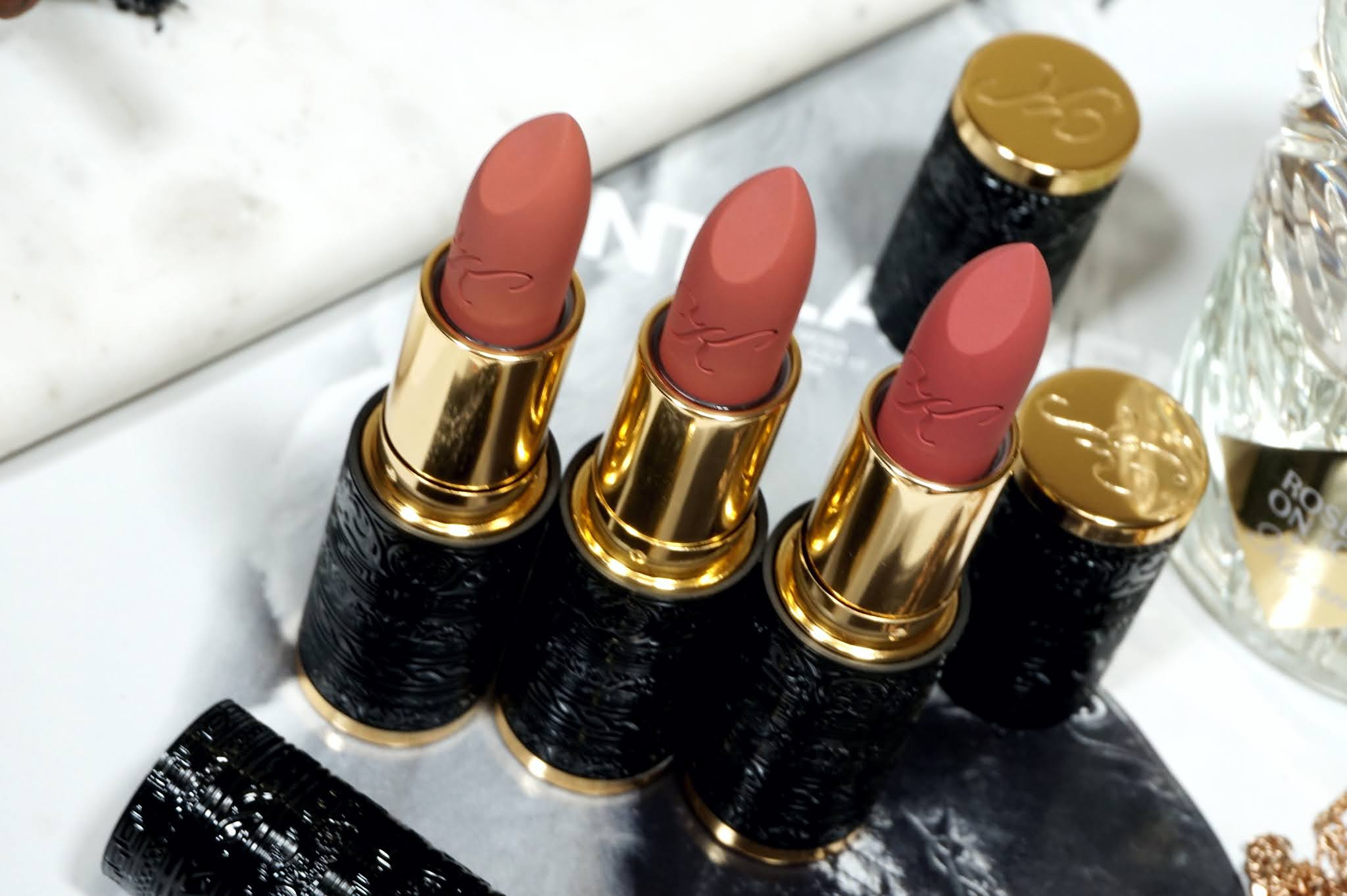 Kilian Le Rouge Parfum Scented Matte Lipstick Review and Swatches